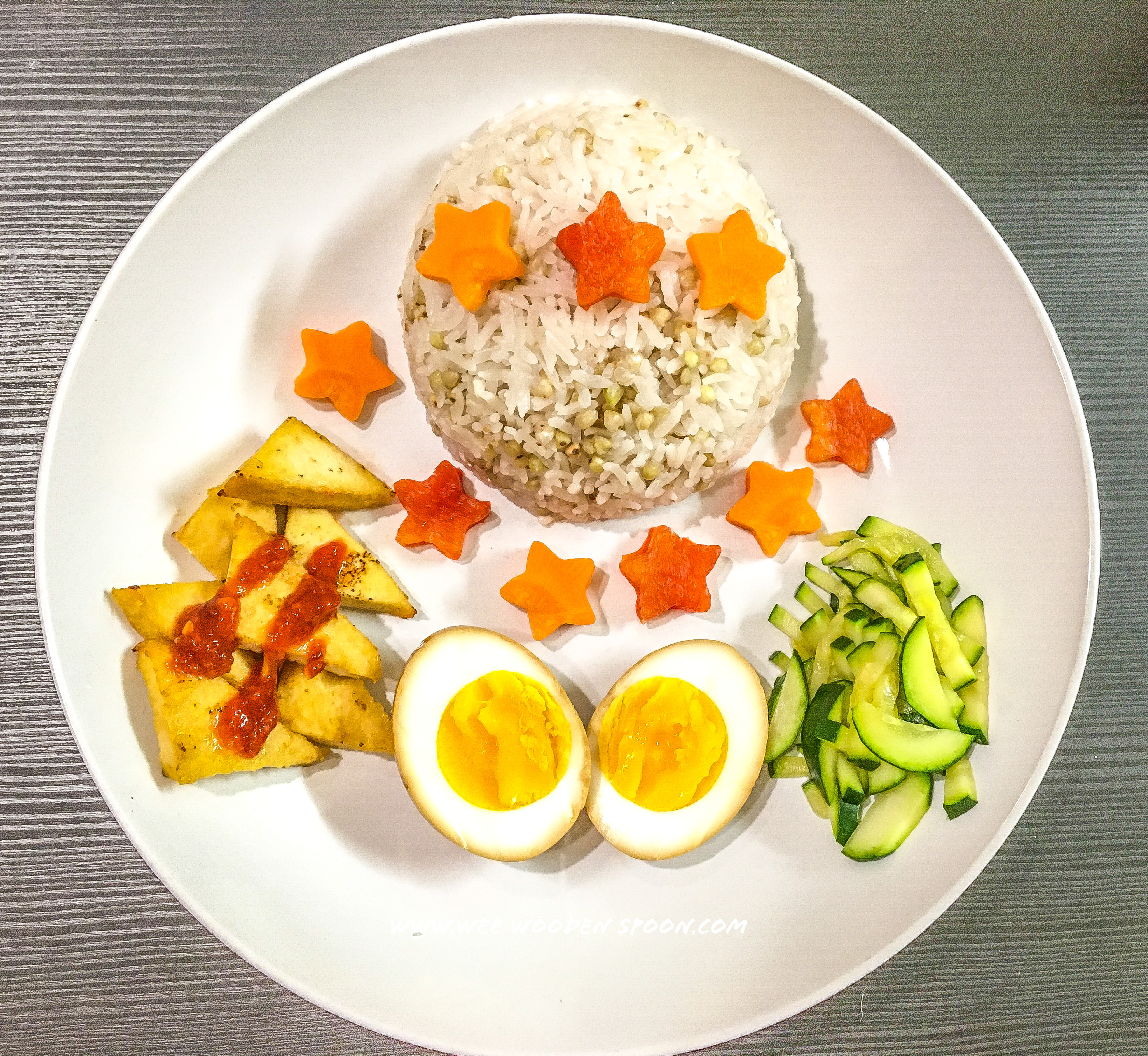 Egg, Tofu and Buckwheat Nourish Bowl