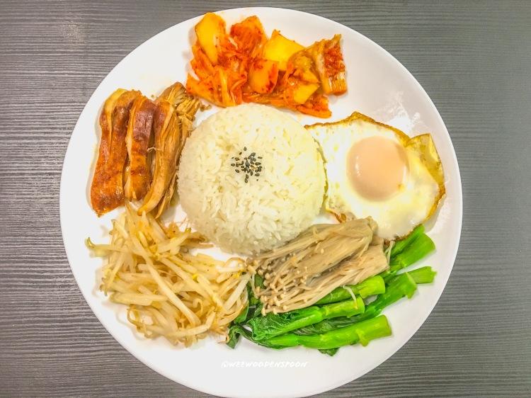 Bibimbap Rice Plate