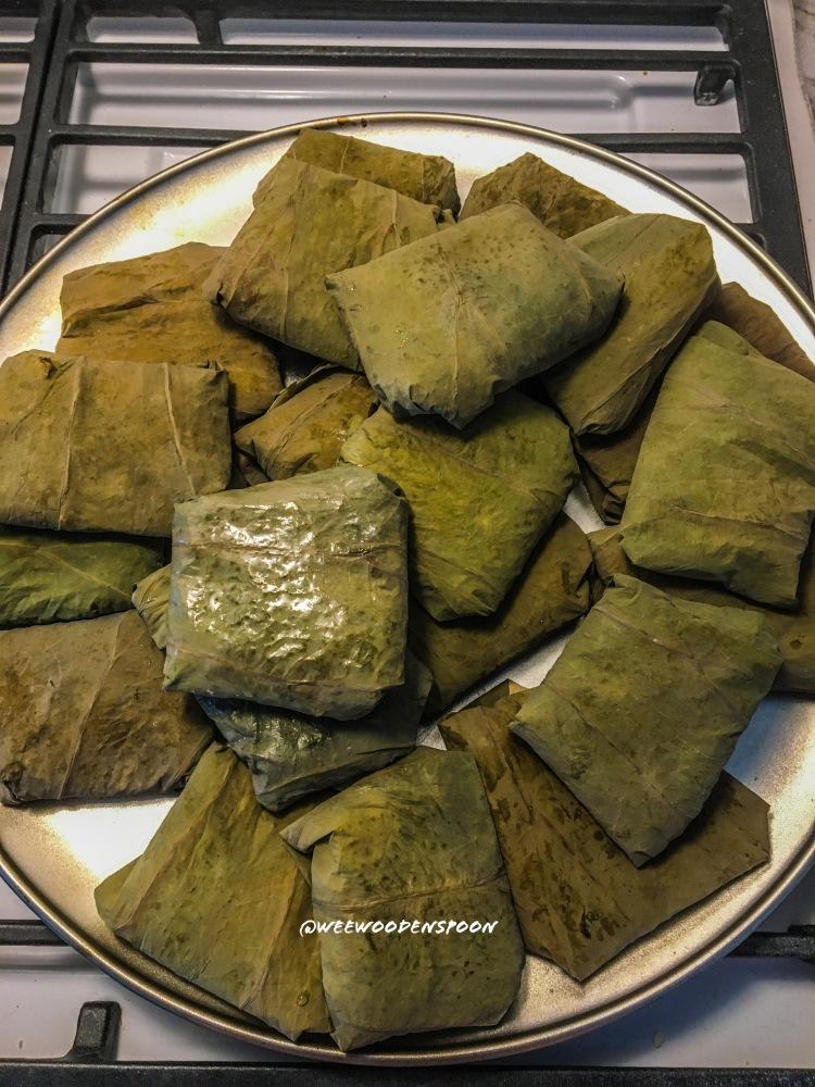 Steamed Lotus Leaf Wraps